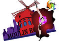 Moulin Rouge Stock Images