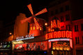 The Moulin Rouge Stock Photos