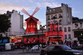Moulin Rouge. Paris Stock Photography