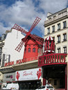 Moulin Rouge Paris Royalty Free Stock Photo