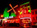 The Moulin Rouge- Paris Royalty Free Stock Photo