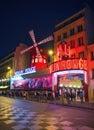 Moulin Rouge Paris Royalty Free Stock Photo