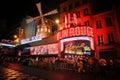 Moulin Rouge - Paris Royalty Free Stock Photo