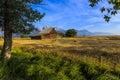 Moulton Barn Jackson Hole, Wyoming Royalty Free Stock Photo