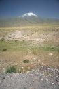 Mount ararat agri dagi mountain turkey Stock Image