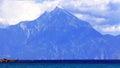 Mount Athos Royalty Free Stock Photo