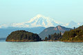 Mount Baker Royalty Free Stock Photo