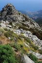 Mount Capanne on Elba island Royalty Free Stock Photography