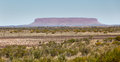 Mount chamberscentral australia scene central near alice springs in northern territory Stock Photography
