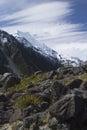 Mount Cook/Aoraki, New Zealand Royalty Free Stock Photo