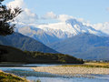 Mount Cook, South Island, New Zealand Stock Images