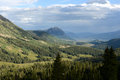 Mount crested butte summer cloud over ft colorado usa Stock Photography