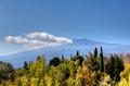 Mount Etna, Taormina, Sicily, Italy Royalty Free Stock Photo