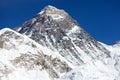 Mount Everest - way to Everest base camp - Nepal Royalty Free Stock Photo