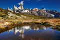 Mount fitz roy argentina los glaciares national park patagonia Royalty Free Stock Photos