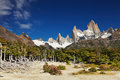 Mount fitz roy argentina los glaciares national park patagonia Royalty Free Stock Photography