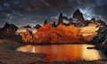 Royalty Free Stock Photo Mount Fitz Roy, Patagonia, Argentina