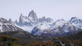 Mount Fitz Roy in Patagonia Royalty Free Stock Photo