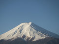 Mount fuji clear day Stock Photography