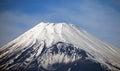 MOUNT FUJI, JAPAN Royalty Free Stock Photo