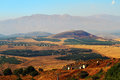 Mount hermon view of from the lookout on bental Royalty Free Stock Images