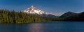Mount Hood and Lost Lake, Oregon Royalty Free Stock Photo