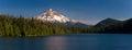Mount Hood and Lost Lake, Oregon Royalty Free Stock Photo