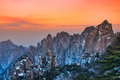 Mount huangshan Royalty Free Stock Photo