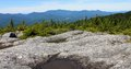 Mount hunger summit vermont mt waterbury trail Stock Photo
