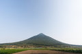 Mount Kaimon (Kaimondake) volcano, Stock Images