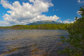 Mount katahdin baxter state park maine Royalty Free Stock Photos