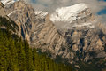 Mount kidd close view of in kananaskis country alberta canada Royalty Free Stock Photography
