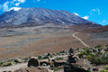 Mount kilimanjaro the highest in africa Royalty Free Stock Photo