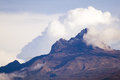 Mount kilimanjaro mawenzi summit tanzania Royalty Free Stock Photography