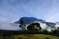 Mount kinabalu one of the beautiful places to visit in sabah this place to relax away from any pressure away from the bustle of Royalty Free Stock Images