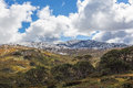 Mount Kosciuszko National Park landscape. Australian Alps, New S Royalty Free Stock Photo