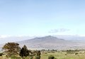 Mount longonot in the great rift valley of kenya is a valcono located Stock Image