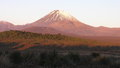 Mount ngauruhoe tongariro national park was the fourth national park established in the world the active volcanic mountains Royalty Free Stock Photo