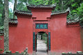 Mount qingcheng is amongst the most important centres of taoism daoism in china Stock Images