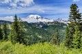 Mount Rainer Royalty Free Stock Photo