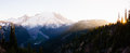 Mount Rainier and Sunset Royalty Free Stock Photo