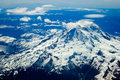 Mount Ranier, Washington Royalty Free Stock Photo