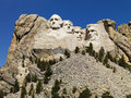 mount rushmore Fotografia Royalty Free