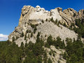 Mount Rushmore. Royalty Free Stock Photo