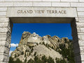 Mount Rushmore entrance. Royalty Free Stock Images