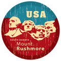 Mount Rushmore Memorial. Royalty Free Stock Image
