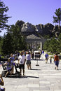 Mount rushmore national memorial in south dakota united states Royalty Free Stock Image