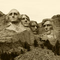 Mount rushmore national monument south dakota usa Royalty Free Stock Photography