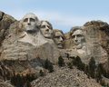 Mount rushmore national monument south dakota usa Stock Photography