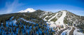 Mount Shasta Ski Park Royalty Free Stock Photo